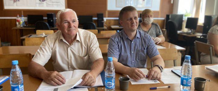 Защита ВКР в Курском техникуме связи.